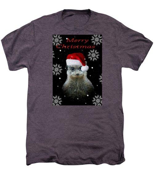 Happy Christmas Men's Premium T-Shirt by Paul Neville