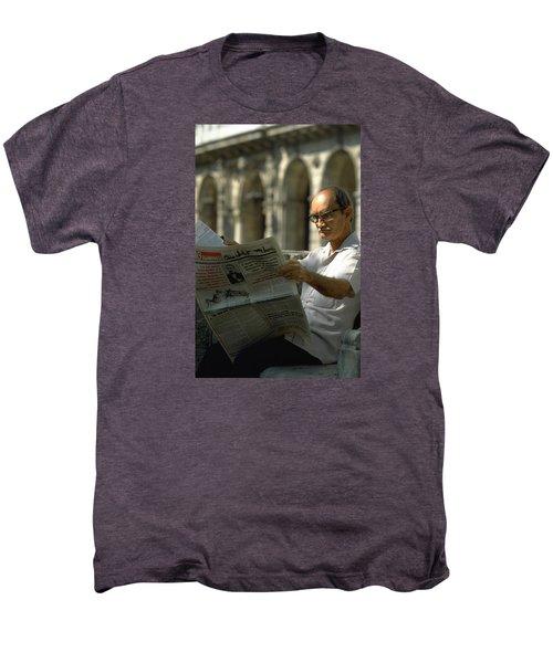 Men's Premium T-Shirt featuring the photograph Havana by Travel Pics