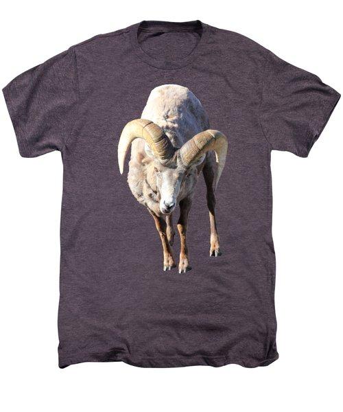 Head-on Men's Premium T-Shirt by Shane Bechler