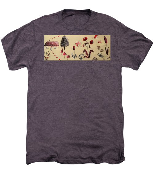 Heart Cottage Red 3 Men's Premium T-Shirt