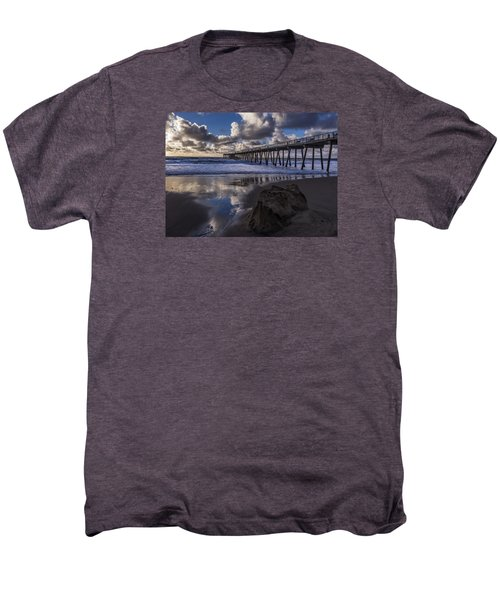 Hermosa Beach Pier Men's Premium T-Shirt