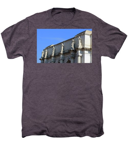 Hey Is That Joe Biden One Statue Said To Another At Union Station Men's Premium T-Shirt