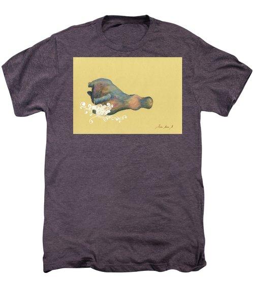 Hippo Swimming Men's Premium T-Shirt