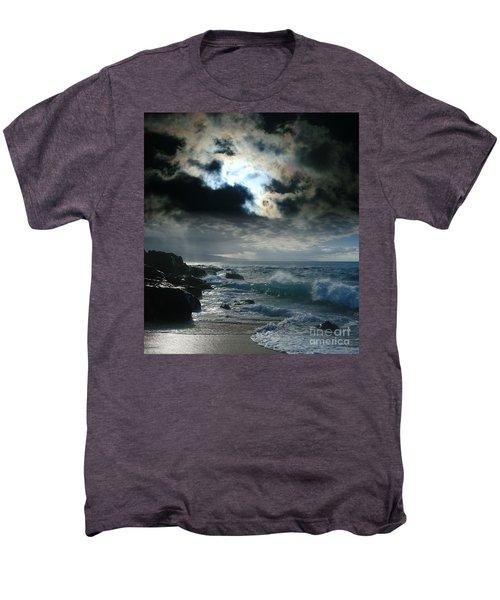 Hookipa Waiola  O Ka Lewa I Luna Ua Paaia He Lani Maui Hawaii  Men's Premium T-Shirt by Sharon Mau
