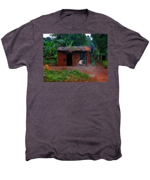 Housecleaning Africa Style Men's Premium T-Shirt by Exploramum Exploramum