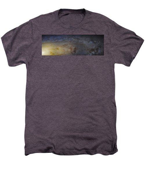 Men's Premium T-Shirt featuring the photograph Hubble's High-definition Panoramic View Of The Andromeda Galaxy by Adam Romanowicz