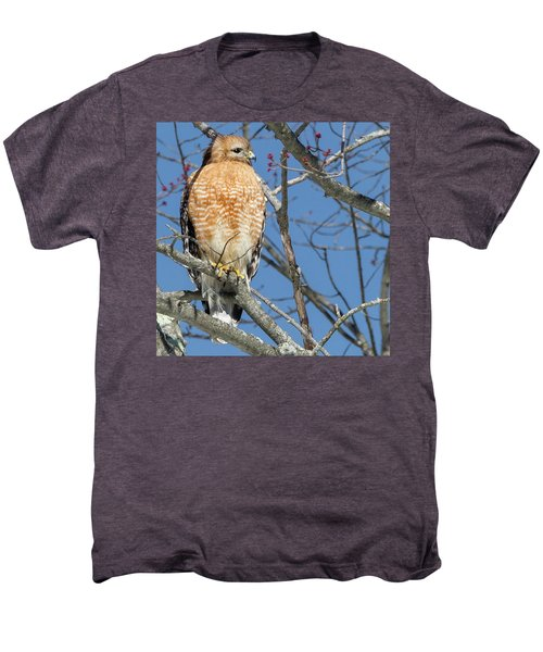 Men's Premium T-Shirt featuring the photograph Hunter Square by Bill Wakeley