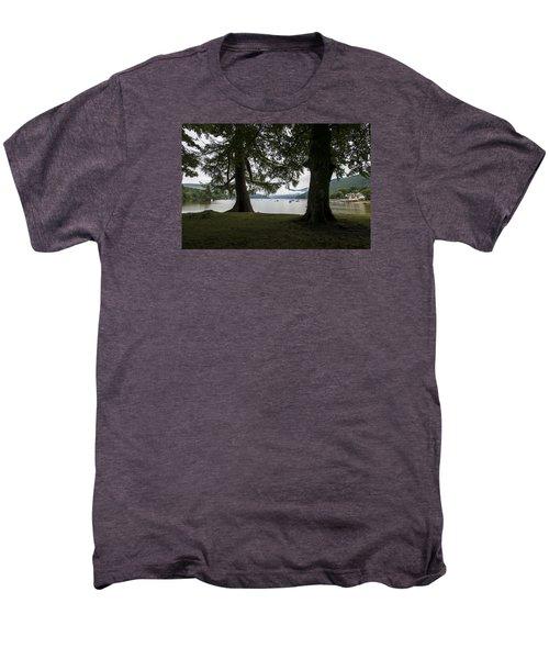 Men's Premium T-Shirt featuring the photograph In Glencoe Uk by Dubi Roman