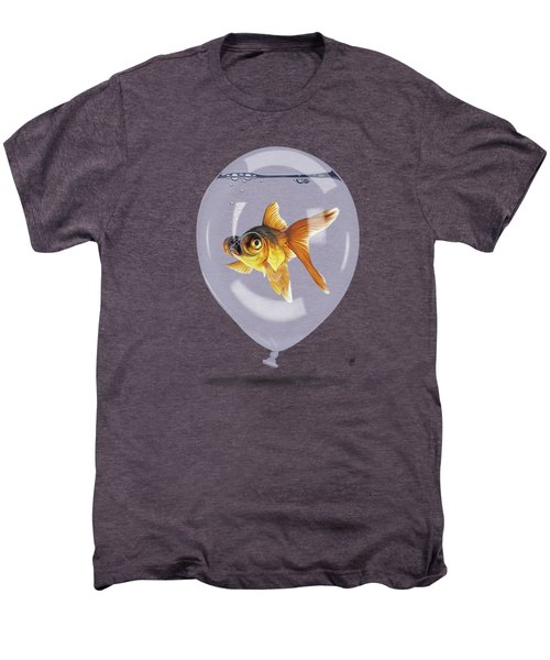 Inflated Wordless Men's Premium T-Shirt