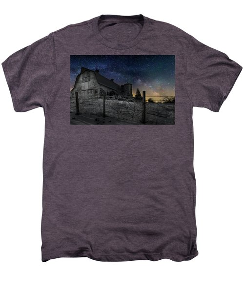 Men's Premium T-Shirt featuring the photograph Interstellar Farm by Bill Wakeley