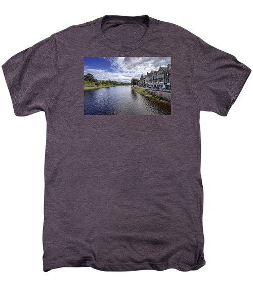 Men's Premium T-Shirt featuring the photograph Inverness by Jeremy Lavender Photography