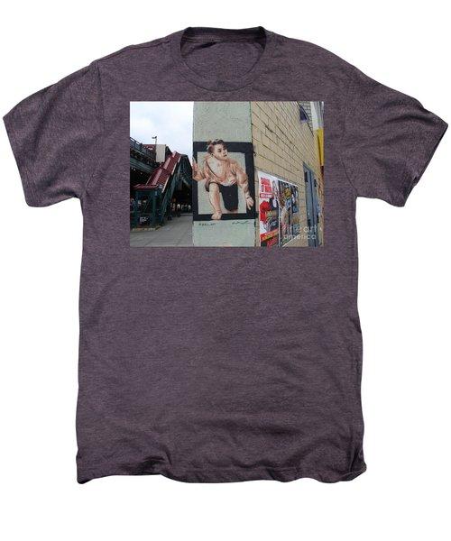 Inwood Graffiti  Men's Premium T-Shirt by Cole Thompson