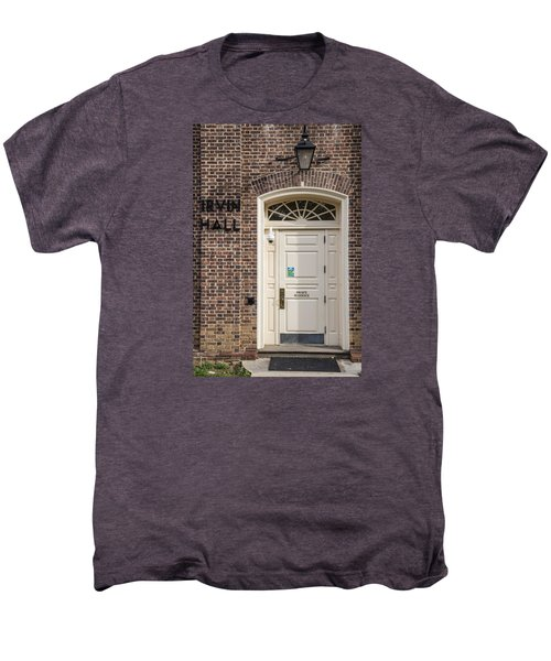 Irvin Hall Penn State  Men's Premium T-Shirt by John McGraw