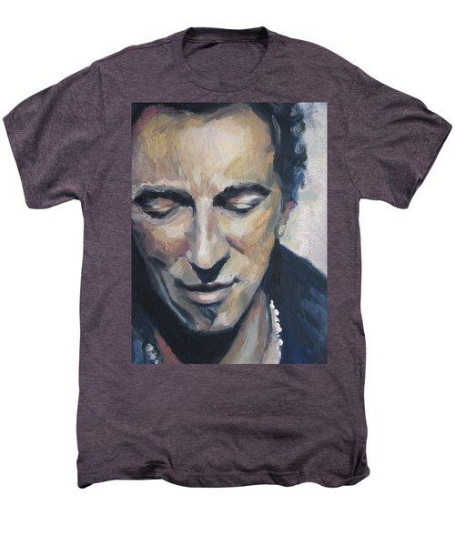 It's Boss Time II - Bruce Springsteen Portrait Men's Premium T-Shirt