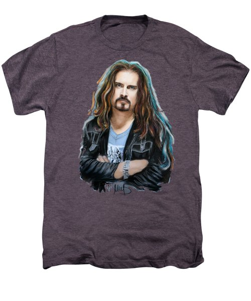 James Labrie Men's Premium T-Shirt by Melanie D