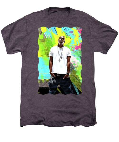Jay Z - Celebrity Art Men's Premium T-Shirt