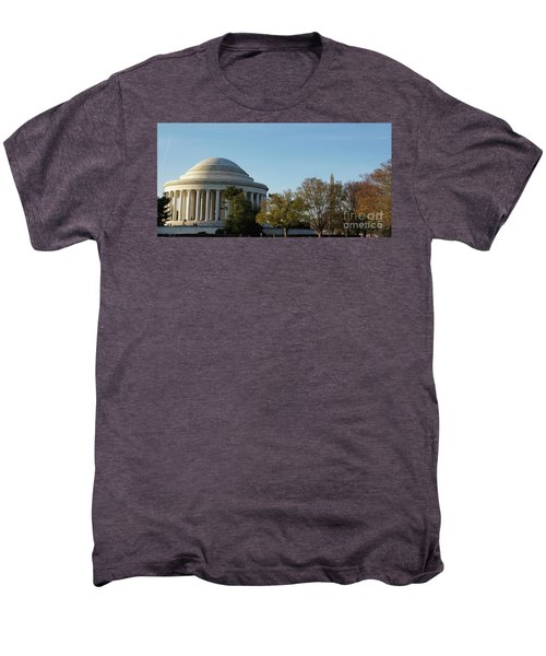Jefferson Memorial Men's Premium T-Shirt by Megan Cohen