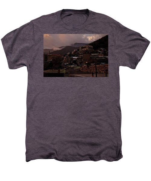 Jerome On The Edge Of Sunrise Men's Premium T-Shirt