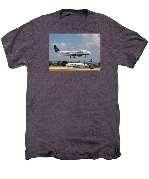 Jetblue Over Spirit Air Men's Premium T-Shirt