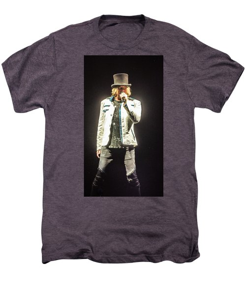 Joe Elliott Men's Premium T-Shirt by Luisa Gatti