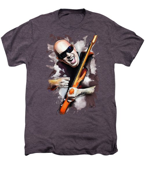 Joe Satriani Men's Premium T-Shirt by Melanie D