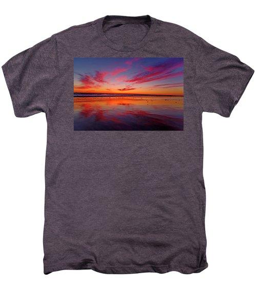 Last Light Topsail Beach Men's Premium T-Shirt by Betsy Knapp