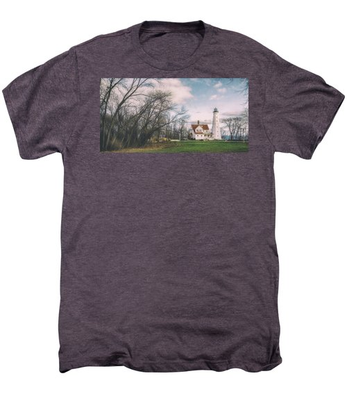 Late Afternoon At The Lighthouse Men's Premium T-Shirt by Scott Norris