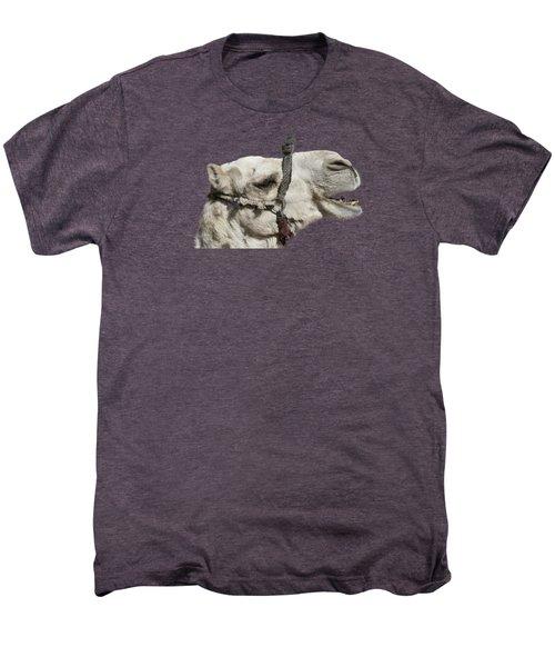 Laughing Camel Men's Premium T-Shirt by Roy Pedersen