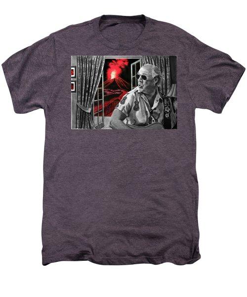 Lava Me Now Or Lava Me Not Men's Premium T-Shirt by William Underwood