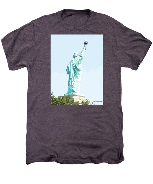 Leap Of Liberty Men's Premium T-Shirt