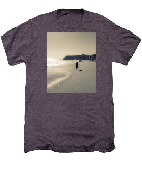 Leave Nothing But Footprints Men's Premium T-Shirt