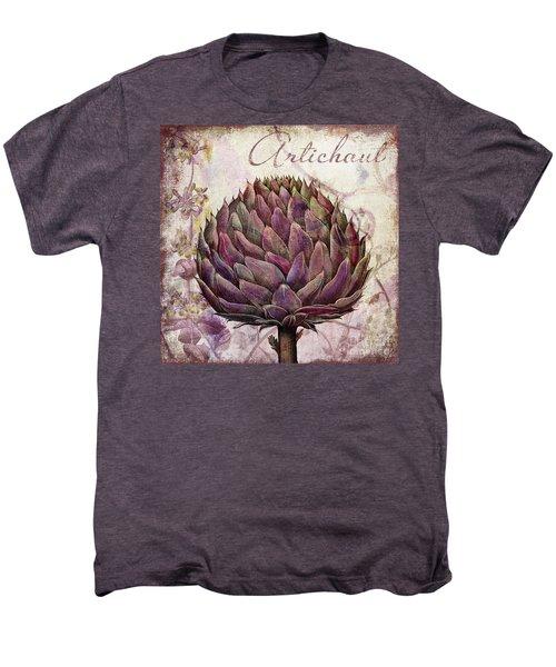 Legumes Francais Artichoke Men's Premium T-Shirt by Mindy Sommers