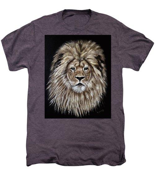 Leonardo Men's Premium T-Shirt by Teresa Wing