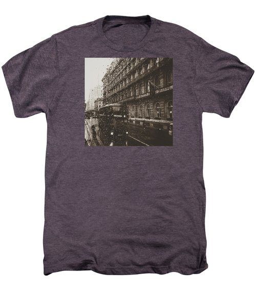 London Rain Men's Premium T-Shirt