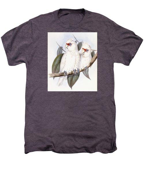Long-billed Cockatoo Men's Premium T-Shirt by John Gould