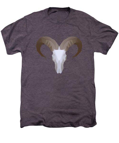 Low Poly Aoudad Men's Premium T-Shirt