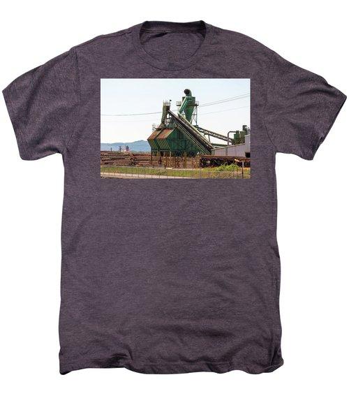 Lumber Mill Sawdust Machinery Men's Premium T-Shirt