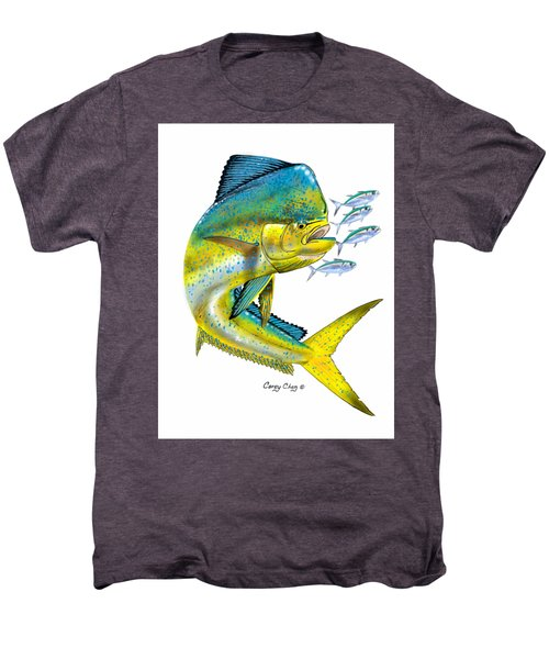 Mahi Digital Men's Premium T-Shirt by Carey Chen