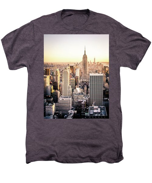 Manhattan Men's Premium T-Shirt by Michael Weber