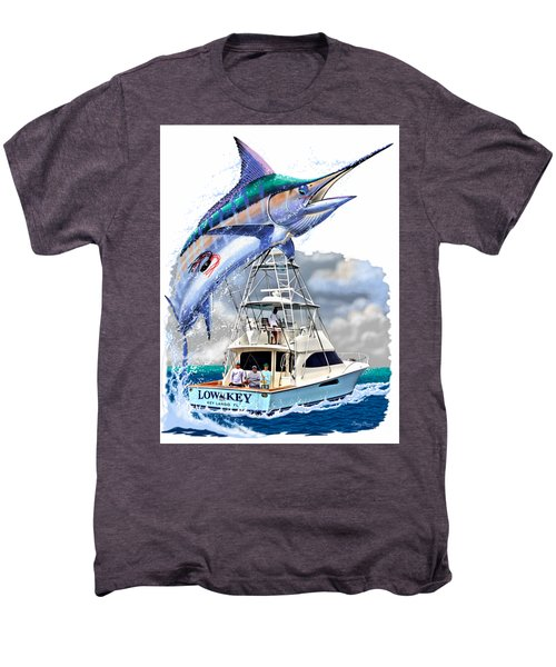 Marlin Commission  Men's Premium T-Shirt by Carey Chen