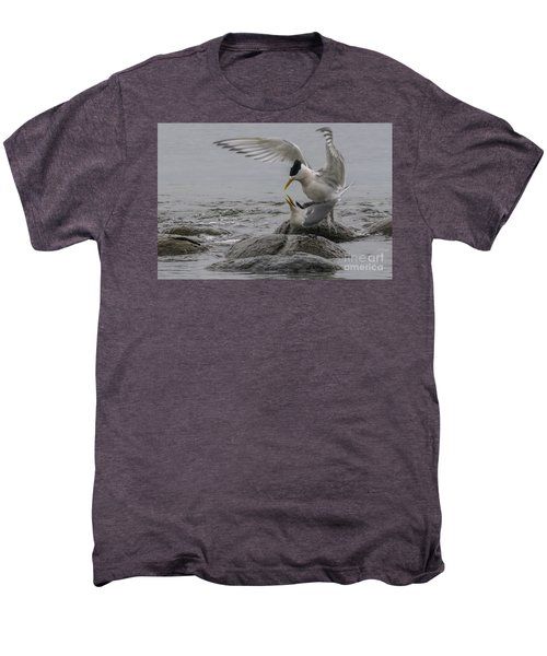 Men's Premium T-Shirt featuring the photograph Mating Pair 2 by Werner Padarin