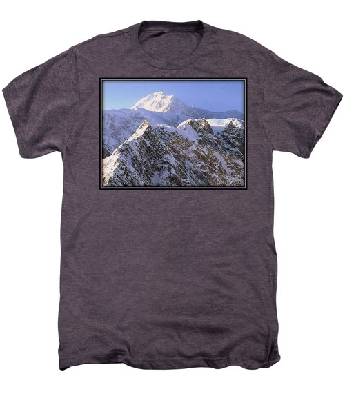 Mc Kinley Peak Men's Premium T-Shirt by James Lanigan Thompson MFA