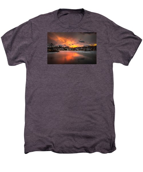 Meredith Sunset Men's Premium T-Shirt