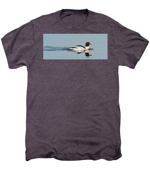 Merganser Panorama Men's Premium T-Shirt