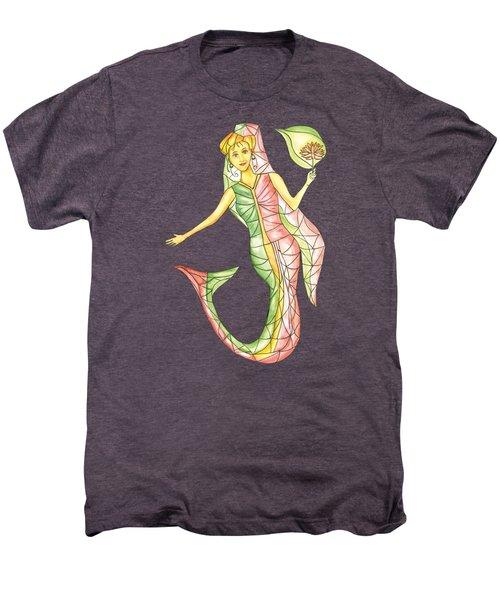 Mermaid Stories A Men's Premium T-Shirt by Thecla Correya