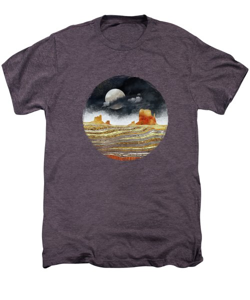 Metallic Desert Men's Premium T-Shirt by Spacefrog Designs