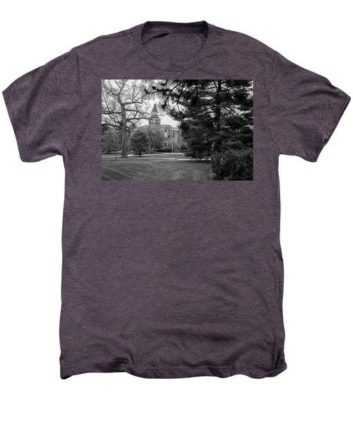 Michigan State University Campus Black And White  Men's Premium T-Shirt