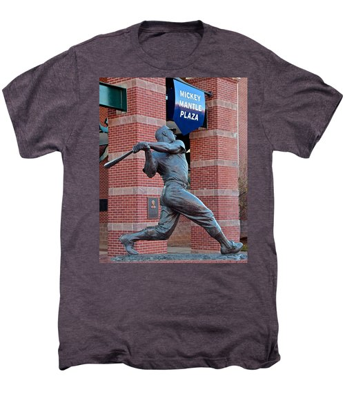 Mickey Mantle Men's Premium T-Shirt