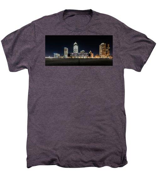 Men's Premium T-Shirt featuring the photograph Milwaukee County War Memorial Center by Randy Scherkenbach