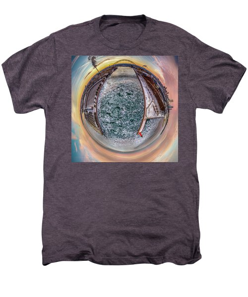 Milwaukee River Little Planet Men's Premium T-Shirt